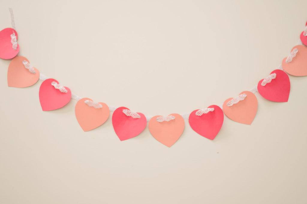 guirlanda dia dos namorados / valentines garland / peripecias